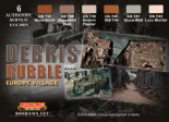 LC-CS31 Debris & Rubble Set (22mlx6)